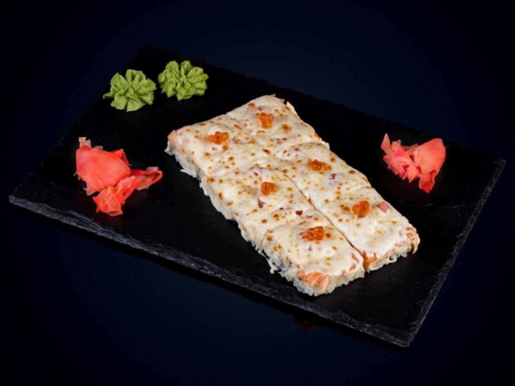 Закуски: Суши-пицца морская в МЭСИ суши&роллы