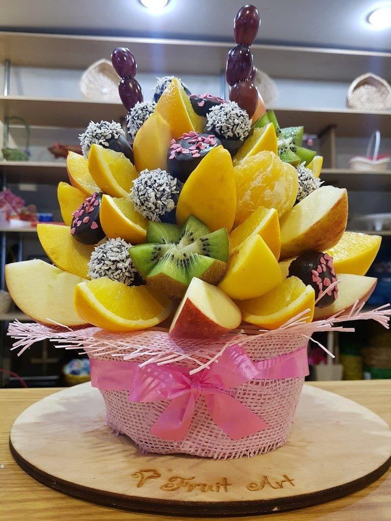"""В корзинке: Букет """"Юность"""" в Fruit Art"""