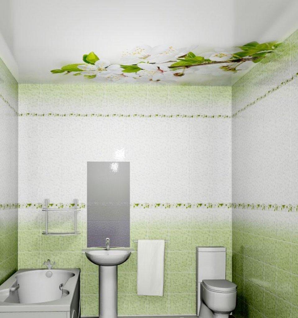 Панели Novita: Декоративный потолок Вишня NOVITA в Мир Потолков