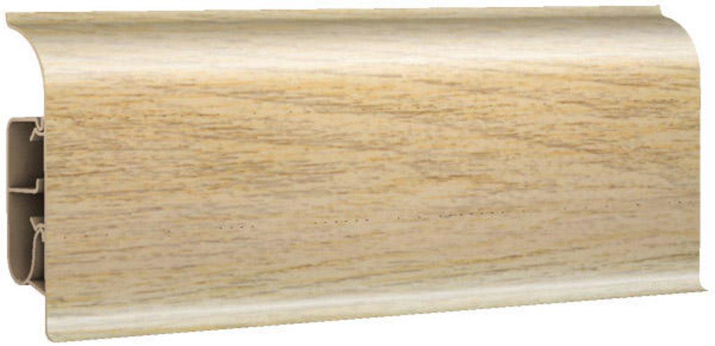 Плинтуса напольные: Плинтус напольный 85 глянцевый 85104 дуб элит в Мир Потолков