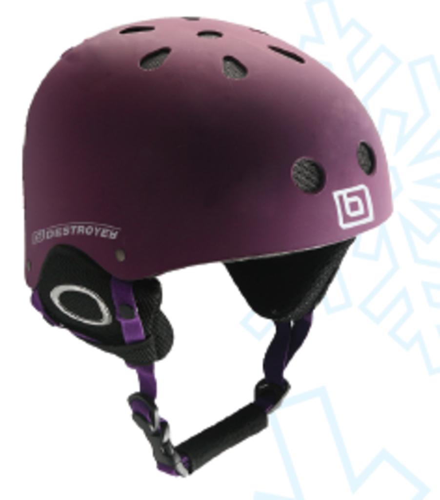 Зимнее снаряжение: Destroyer шлем горнолыжный DSRH-666 в Турин