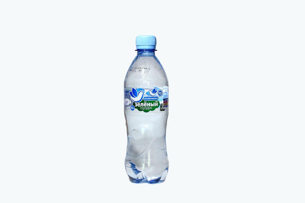 Вода 0,5 - 1,5 л: ЗЕЛЕНЫЙ ГОРОДОК 0,5 Б/Г в ТСК+, ООО