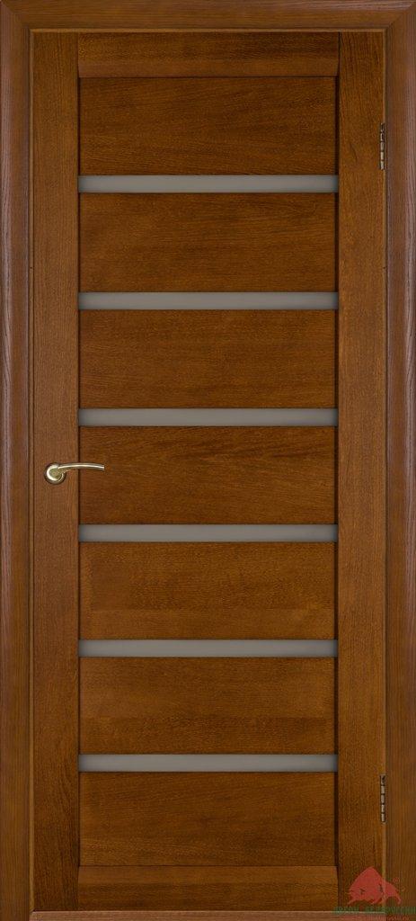 Двери Белоруссии  шпонированые: Бристоль-Э (тёмный орех) в STEKLOMASTER