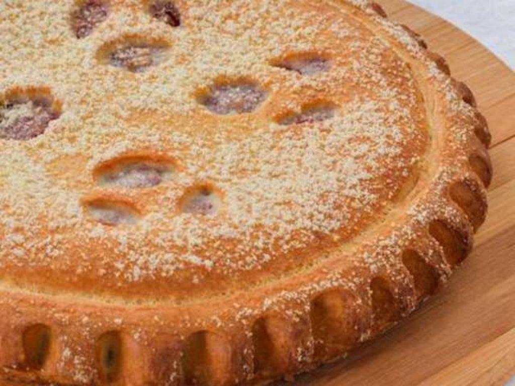 Сладкие: Пирог с яблоком и повидлом в Провиант