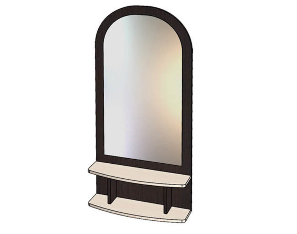 Малые формы: Зеркало с полкой в Уютный дом