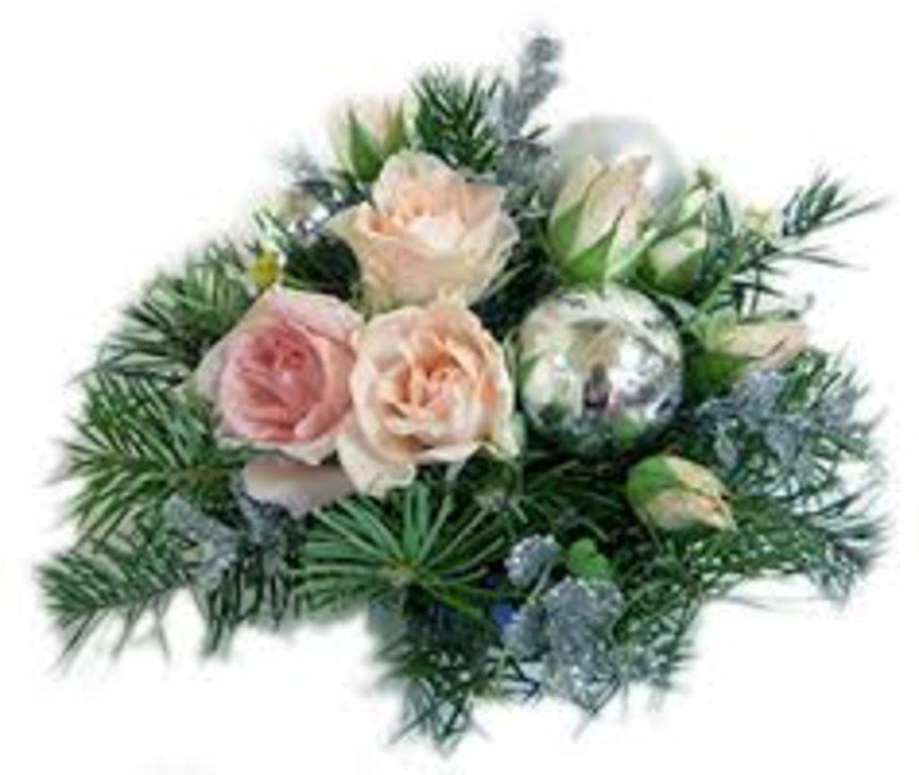 Новогодние и рождественские композиции: 002 Композиция/Aranzman в Lilies
