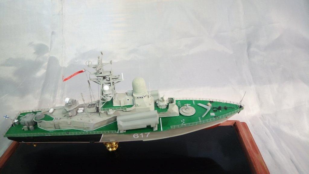 Модели кораблей: Модель малого ракетного корабля (МРК) проекта 1234 в Модели кораблей