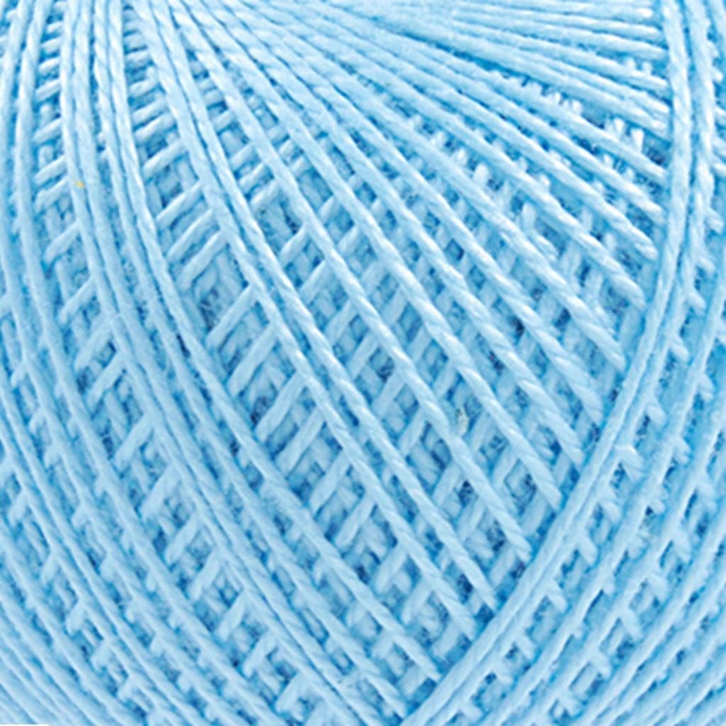 Ирис 25гр.: Нитки Ирис 25гр.150м.(100% хлопок)цвет 2704 бледно-голубой в Редиант-НК