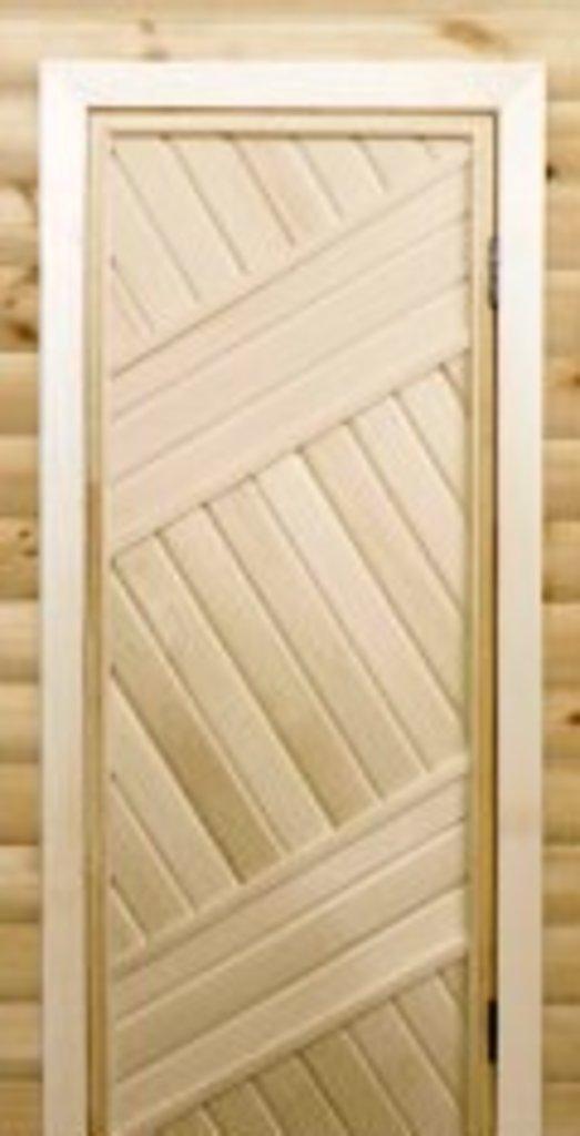 Двери для бани и сауны: Двери глухие. Липа. в Сельский магазин