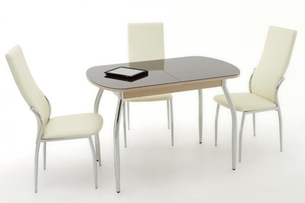 Столы кухонные: Стол ПГ-04 (хром) в АРТ-МЕБЕЛЬ НН
