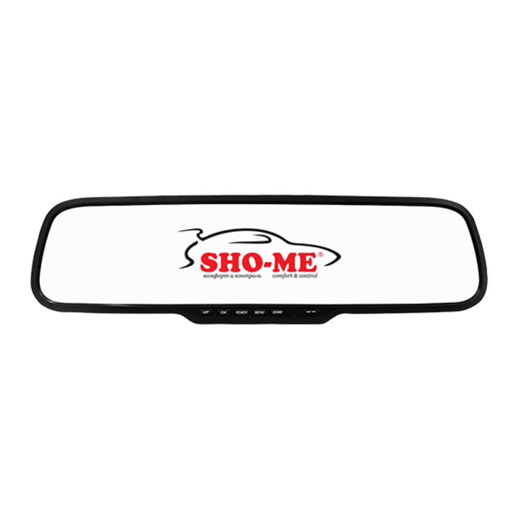 """Видеорегистраторы автомобильные: Зеркало-видеорегистратор Sho-Me SFHD-300 2,7"""" в Безопасность"""
