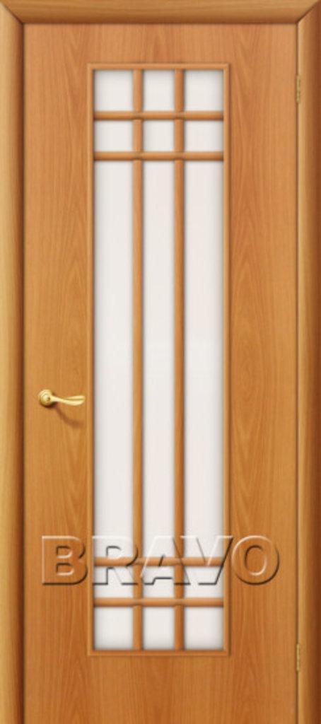 Двери ламинированные BRAVO: 16С Л-12 (МиланОрех) в STEKLOMASTER