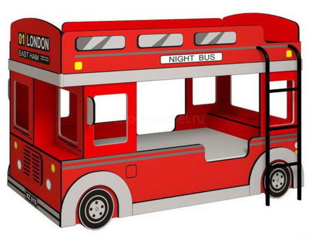 Детские и подростковые кровати: Кровать Автобус 1 в Стильная мебель