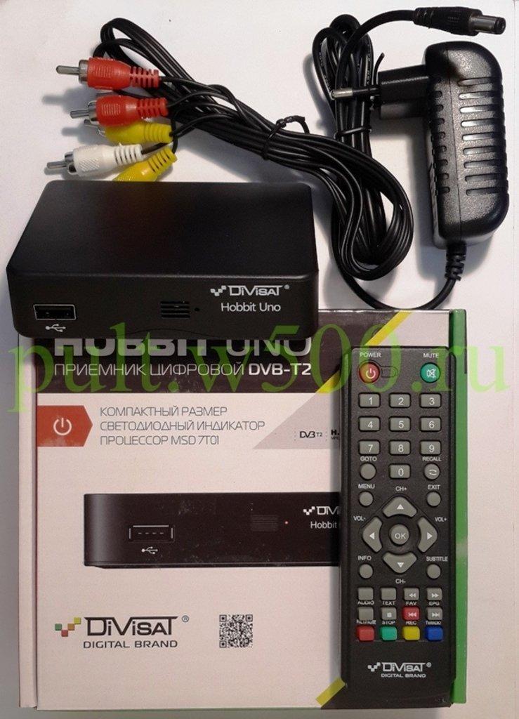 DVB-T2 Ресиверы, приставки: Приемник цифровой эфирный DVB-T2 в A-Центр Пульты ДУ