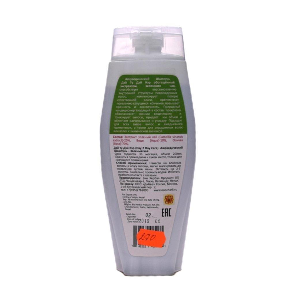 Средства для волос: Аюрведический шампунь с кондиционером - Зеленый чай (Day 2 Day Care) в Шамбала, индийская лавка