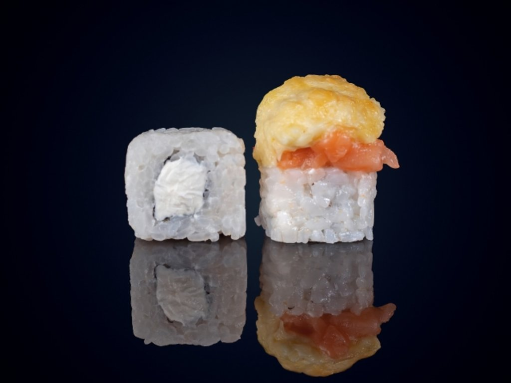 Лосось: Сяке мусияку в МЭСИ суши&роллы