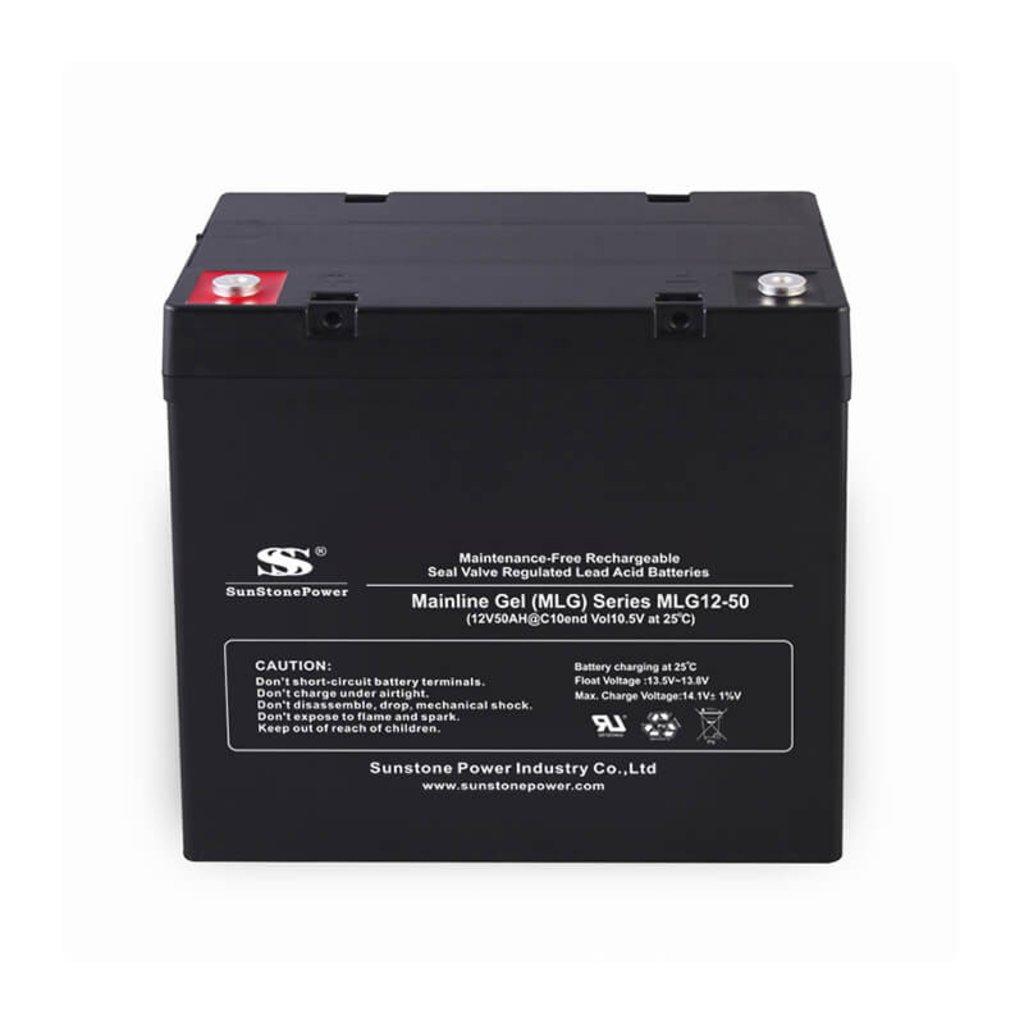 Гелевые: Аккумулятор SunStonePower MLG12-50 в Горизонт