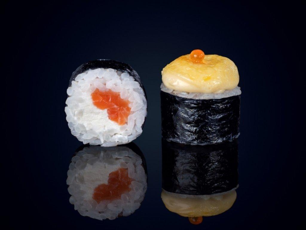 Лосось: Син Сяке в МЭСИ суши&роллы