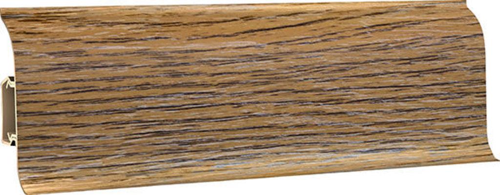 Плинтуса напольные: Плинтус напольный 60 ДП МК полуматовый 6080 дуб бордо в Мир Потолков