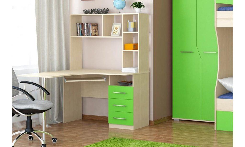 Спальный гарнитур Радуга: Стол компьютерный Радуга в Уютный дом