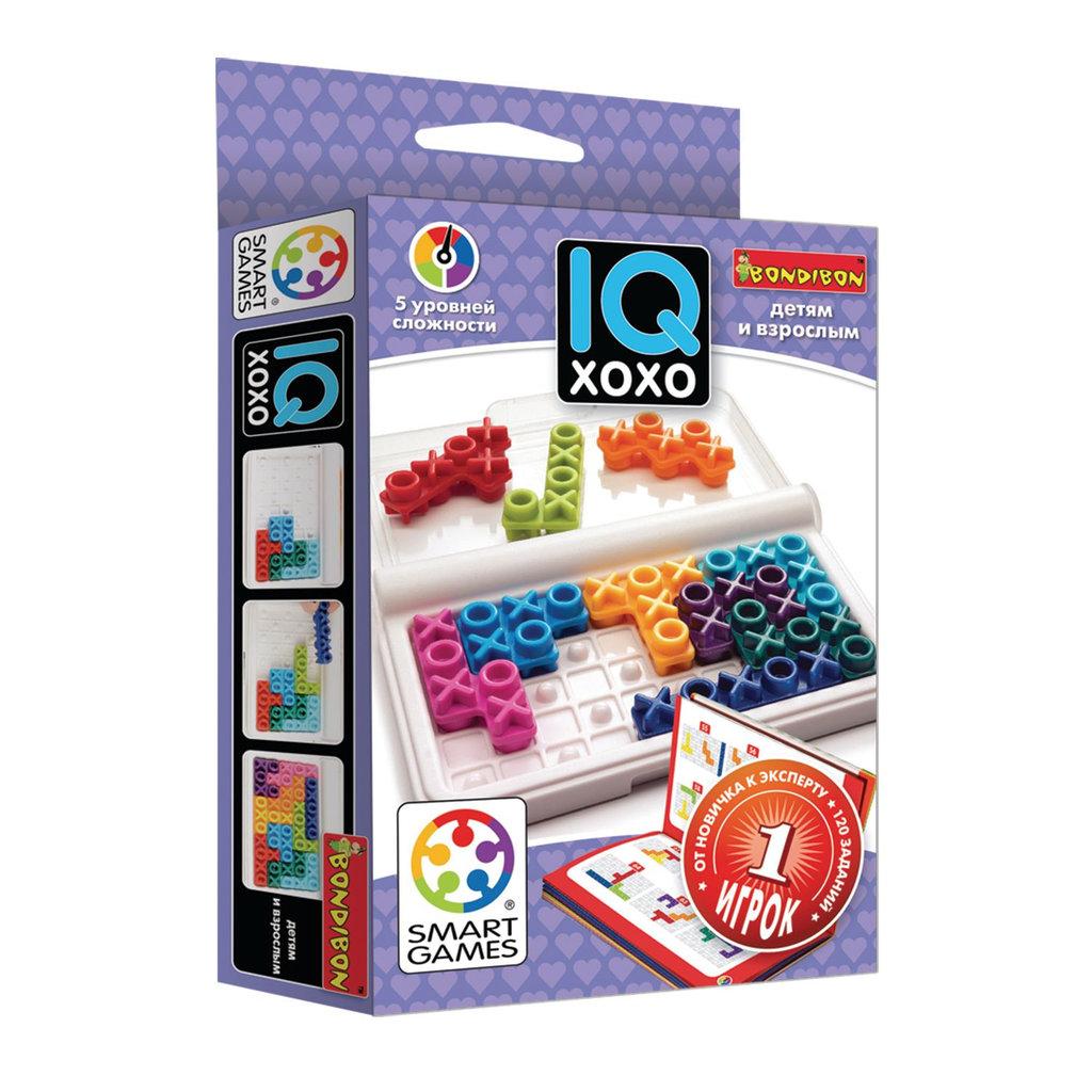 Настольные и спортивные игры: Логическая игра IQ-ХоХо Bondibon в Игрушки Сити