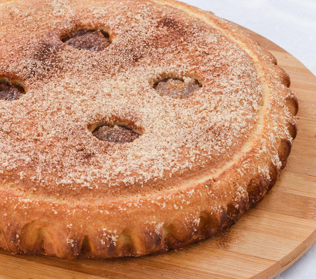 Сладкие: Пирог с яблоком и корицей в Провиант