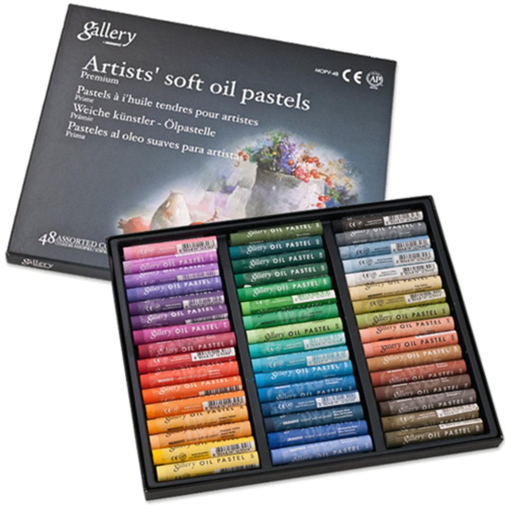 Пастель: Пастель Gallery soft oil pastels, 48 цветов в Палитра