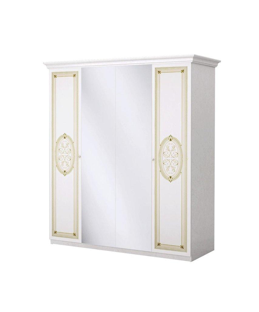 Шкафы для спальни: Шкаф 4-дверный Лара в Стильная мебель