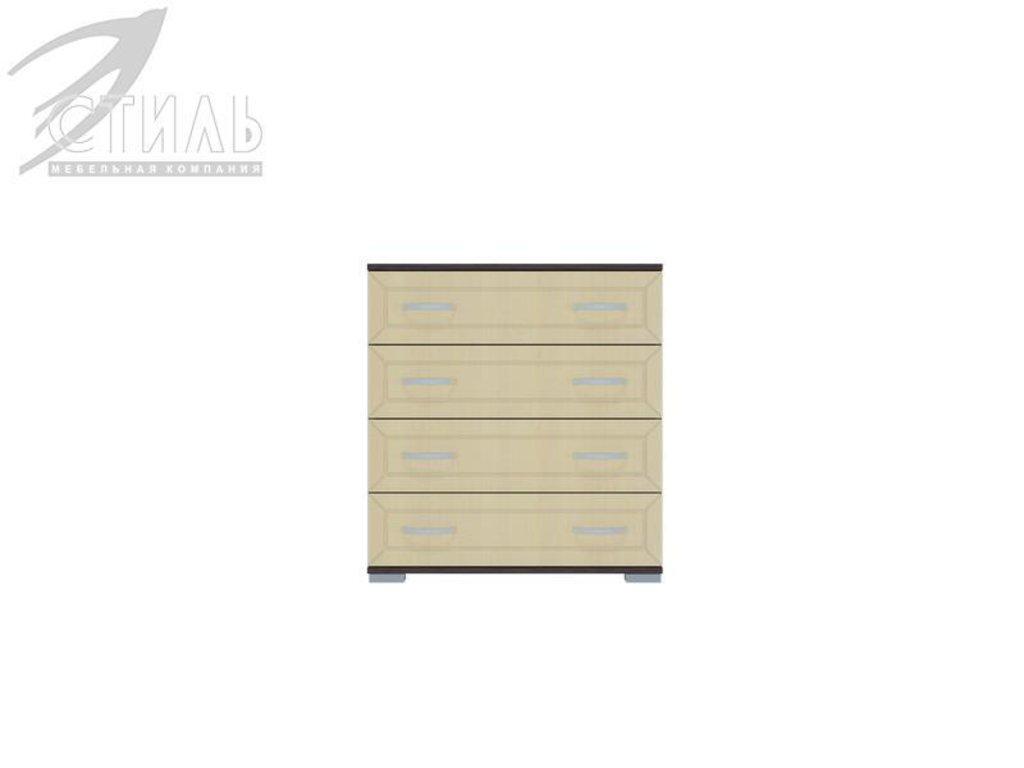 Комоды: Комод МДФ №2 (Венге / Клен светлый) в Диван Плюс