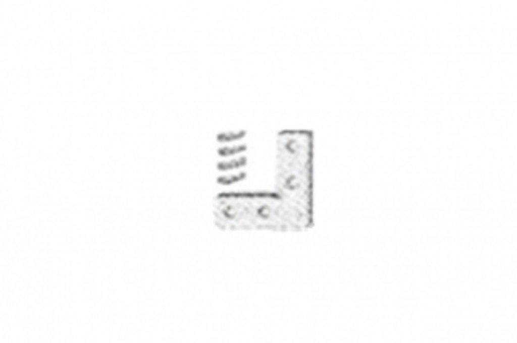 TERNO 4/5: Terno 5 Уголок соединительный в комплекте с винтами в МебельСтрой