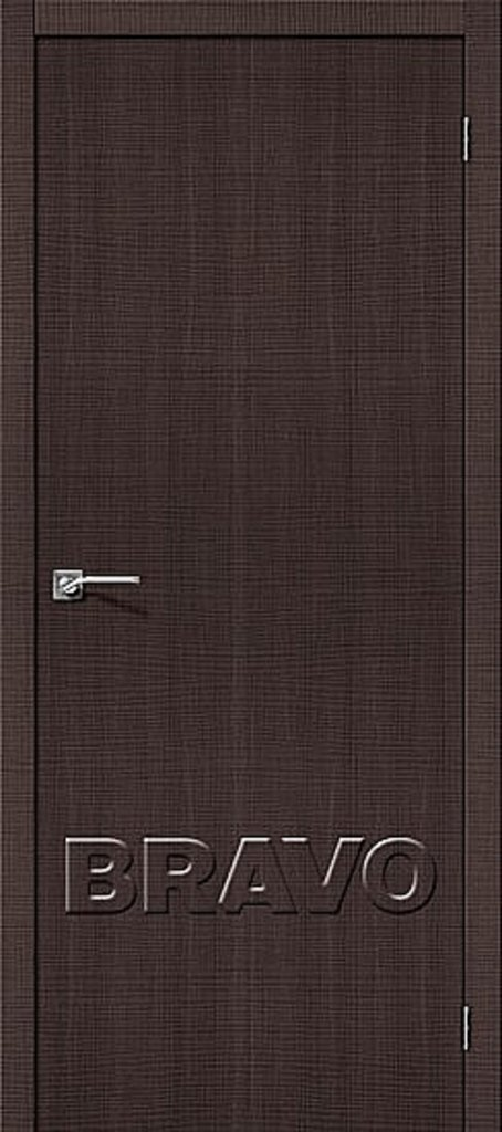 Двери экошпон BRAVO: Порта-50 Wenge Crosscut в STEKLOMASTER