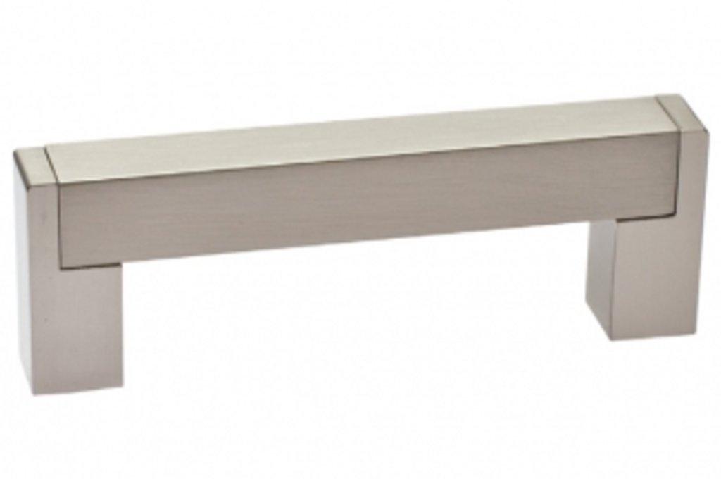 Коллекция РЕЙЛИНГИ: Ручка-скоба 128мм, отделка сталь нержавеющая в МебельСтрой