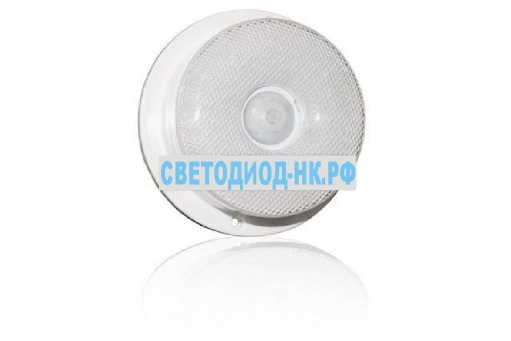 Светильники ЖКХ: Светильник сенсорный PIR72 (4.5W, 72 LED) накладной в СВЕТОВОД