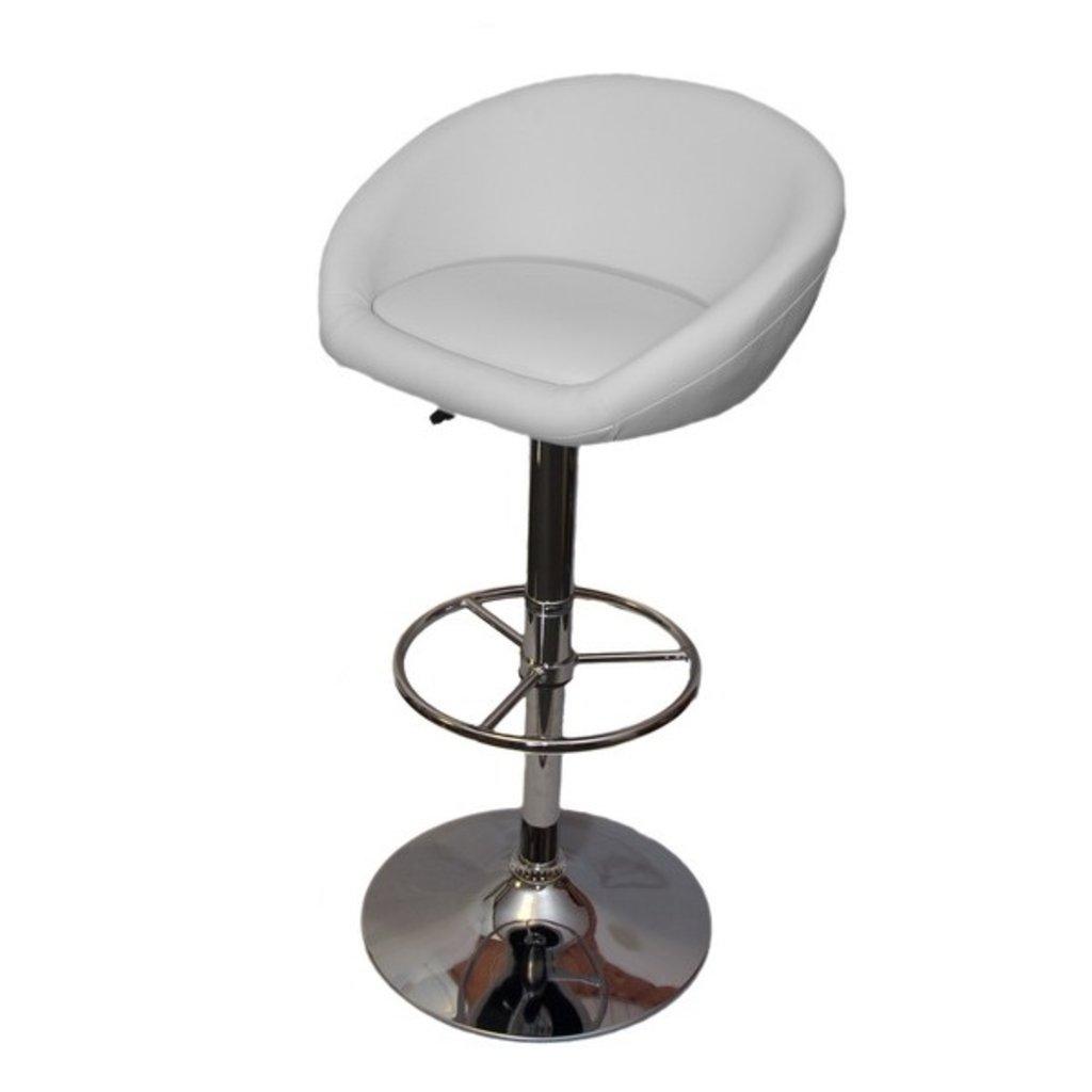 Стулья барные: Барный стул PU02 (хром) в АРТ-МЕБЕЛЬ НН