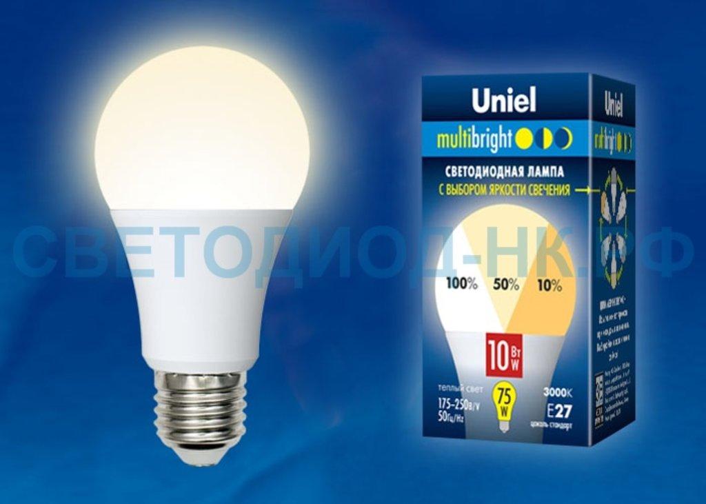 Диммируемые лампы: LED-A60-10W/WW/E27/FR/MB PLM11WH в СВЕТОВОД