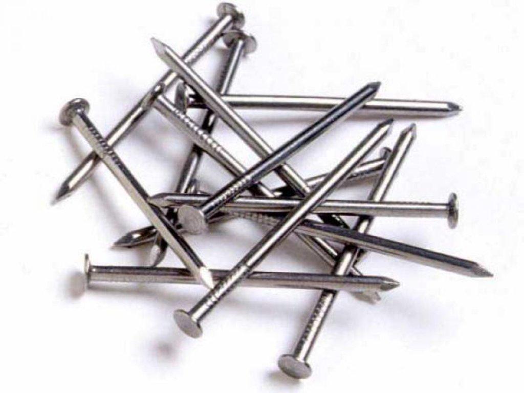 Арматура, металлопрокат: Гвозди 3,5х90мм в 100 пудов