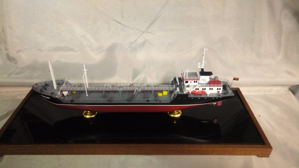 Модели кораблей: Нефтяной танкер Kaiser Sea в Модели кораблей