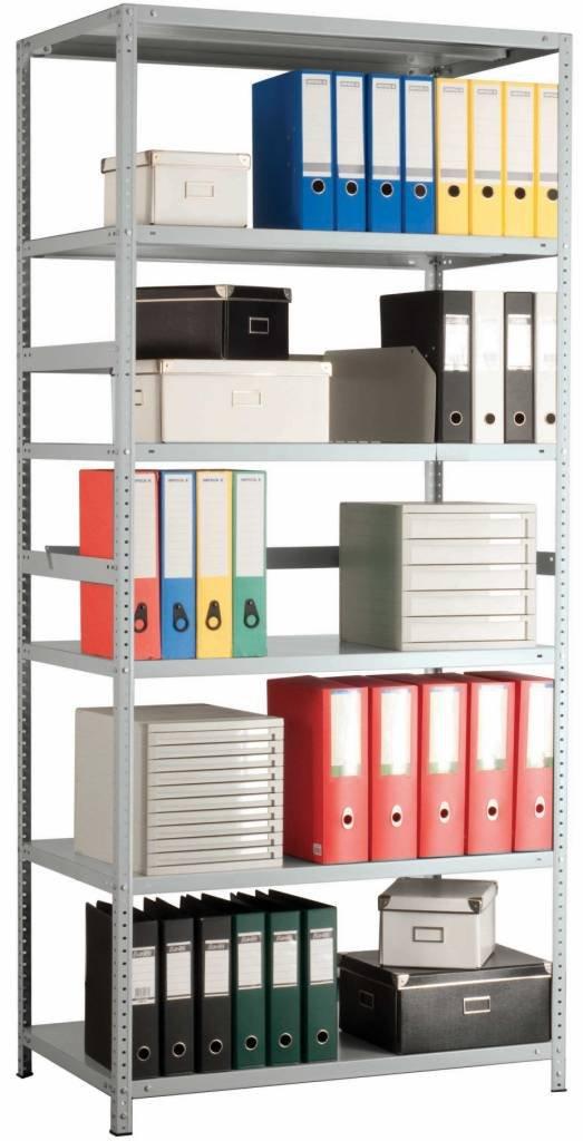 Офисные шкафы и стеллажи: Стеллажи полочные архивные для документов в А Склад