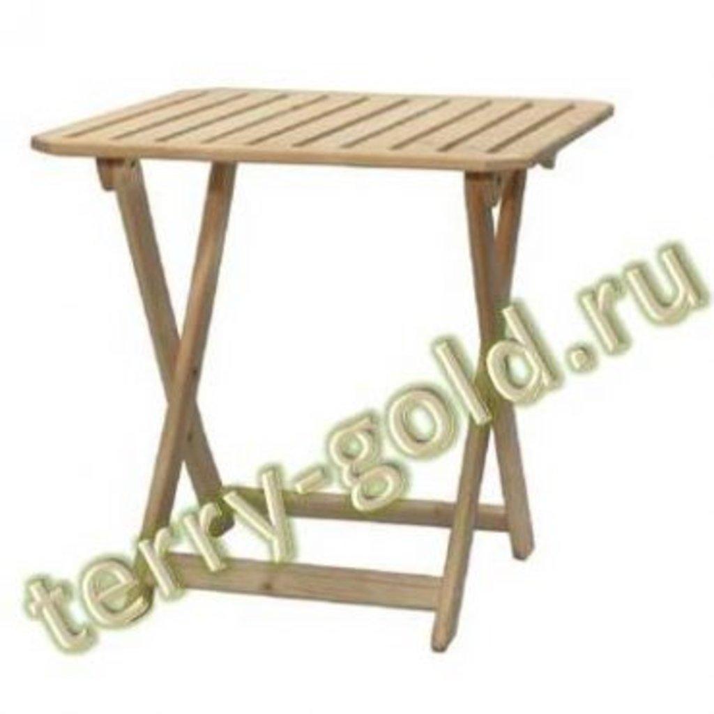 Садовая и пляжная мебель, общее: Стол складной в Terry-Gold (Терри-Голд), погонажные изделия