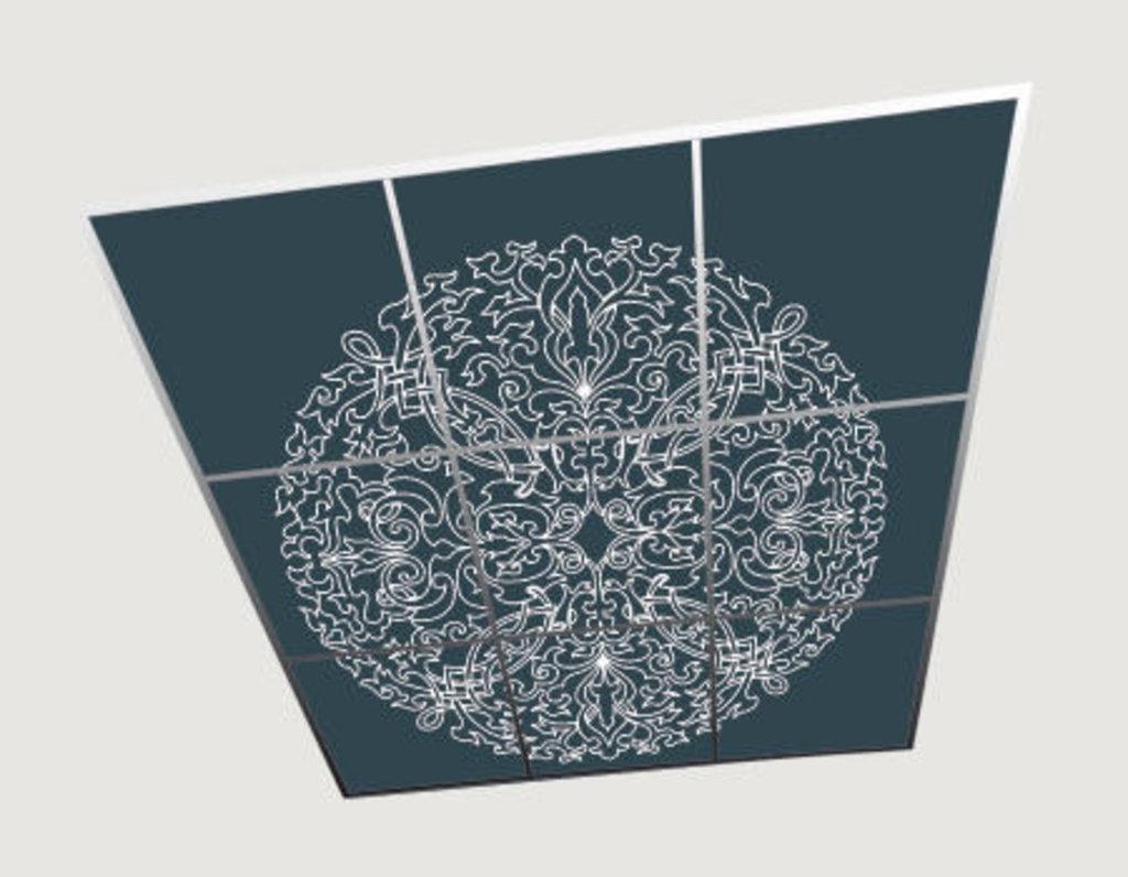 Зеркальные потолоки: Серия «Ампир» в Мир Потолков