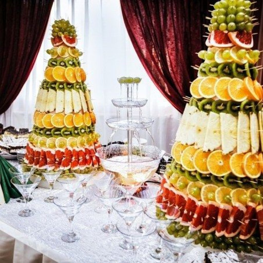 ВСЕ БУКЕТЫ: Фруктовая пирамида в Fruit Art