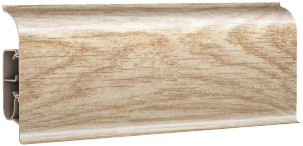 Плинтуса напольные: Плинтус напольный 85 глянцевый 85112 дуб виктория в Мир Потолков