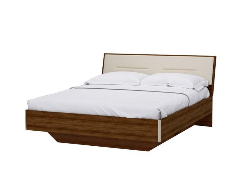 Кровати: Кровать 1,6 м с решёткой ортопедической Мальта в Стильная мебель