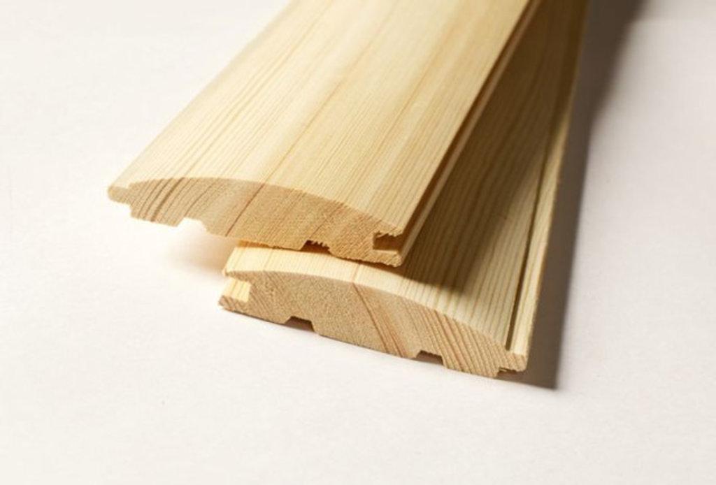 Деревоизделия: Блок-хаус в Строитель, магазин в 23 микрорайоне