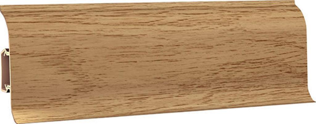 Плинтуса напольные: Плинтус напольный 60 ДП МК полуматовый 6077 дуб норманд в Мир Потолков