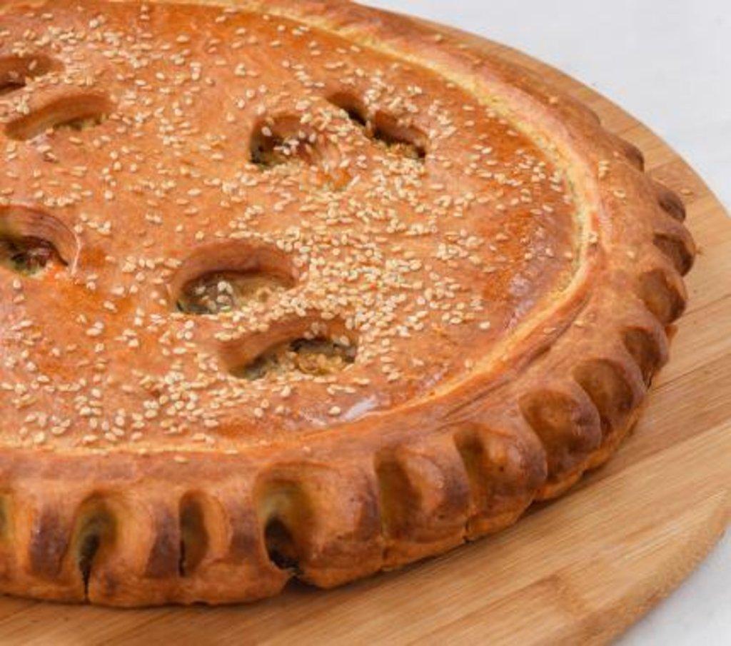 Рыбные: Пирог с семгой и рисом в Царевы Пироги