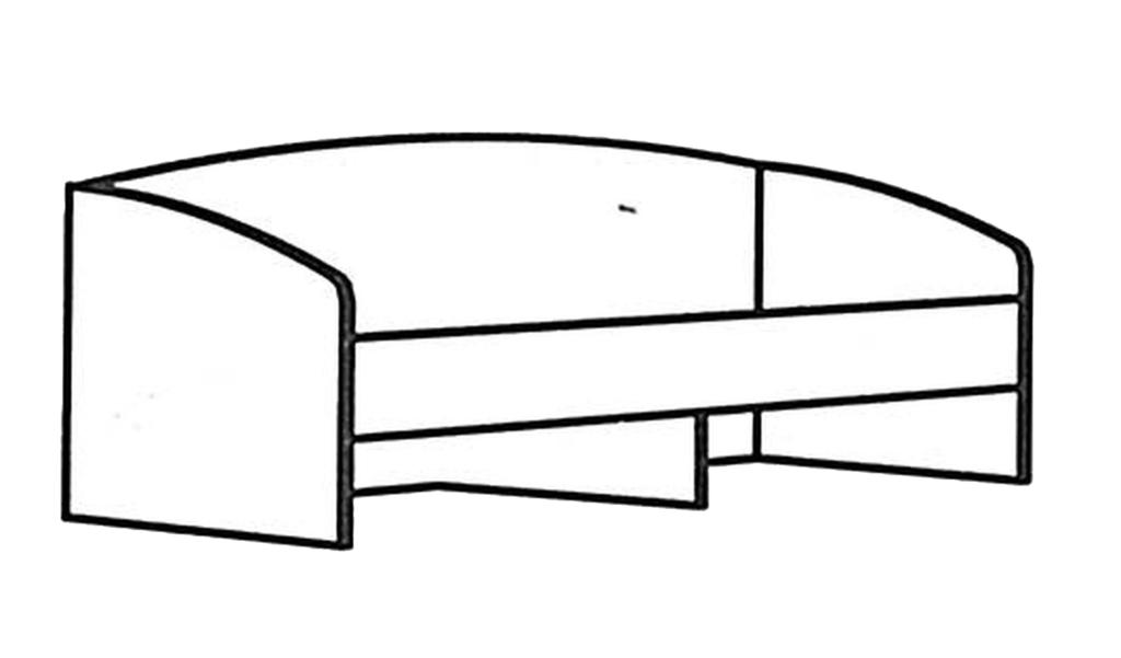 Детские и подростковые кровати: Кровать Денди Звёздочка МДФ в Стильная мебель
