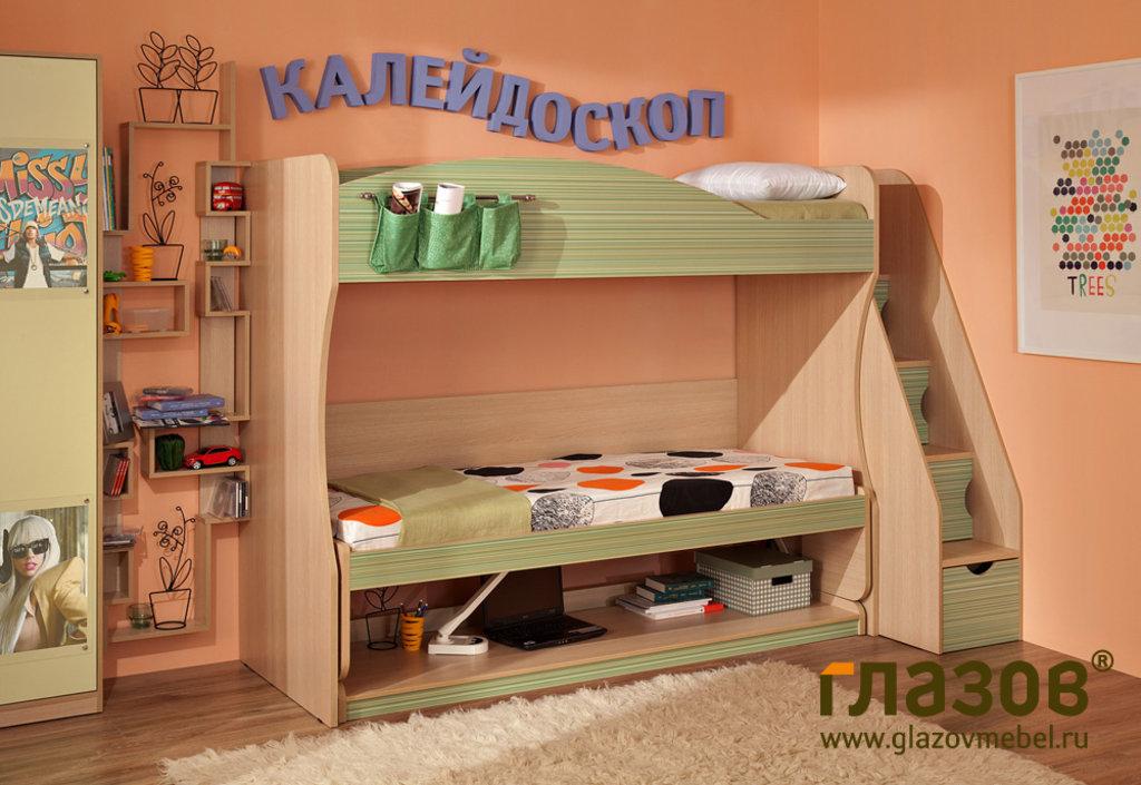 Детские и подростковые кровати: Кровать-Трансформер 1 Калейдоскоп в Стильная мебель