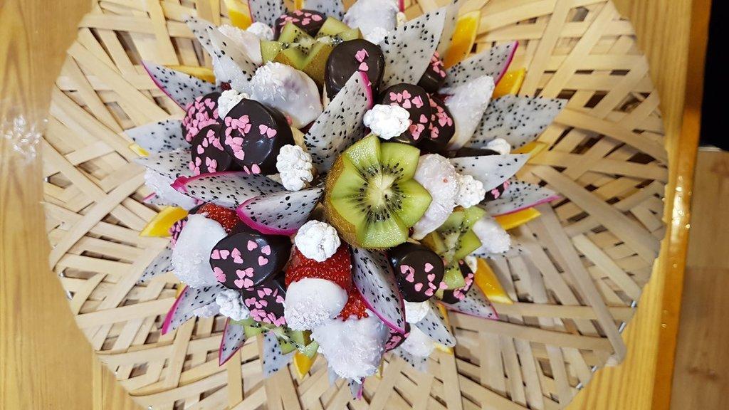ВСЕ БУКЕТЫ: Сердце дракона в Fruit Art