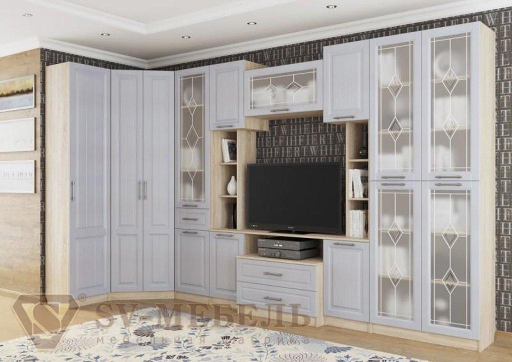 Мебель для гостиной Прованс-1: Шкаф для посуды Прованс-1 в Диван Плюс